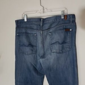 7 FOR ALL MANKIND size 36 button fly standard styl